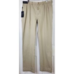 NWT polo ralph Lauren classic pleated fit pants